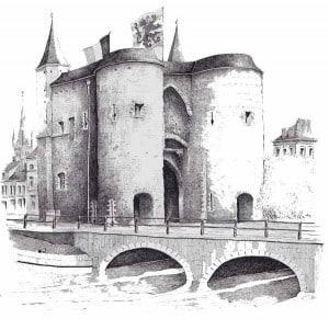 Брюгге городские ворота