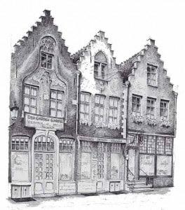 Брюгге архитектура