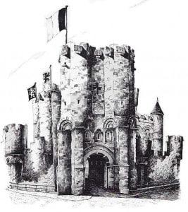 Гент достопримечательности замок