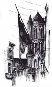Гент церковь Святого Николая