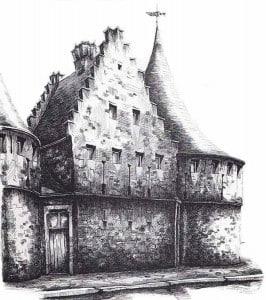 Гент городские ворота