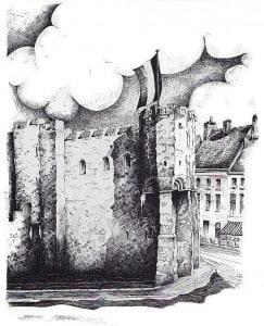 Достопримечательности Гента замок