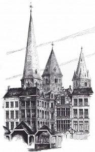 Гент церковь Святого Иоанна