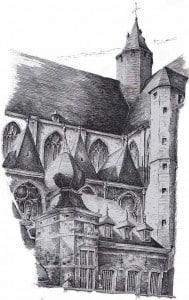 Гент церковь Святого Михаила