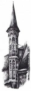 Бельгия готическая башня